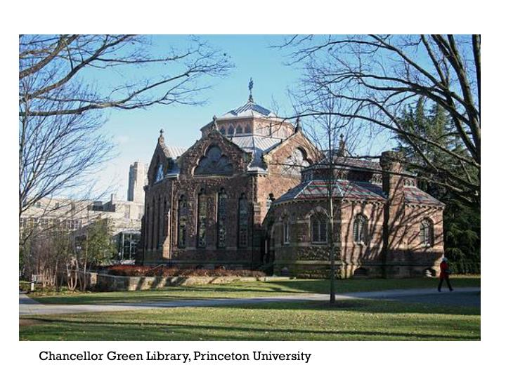 Chancellor Green Library, Princeton University