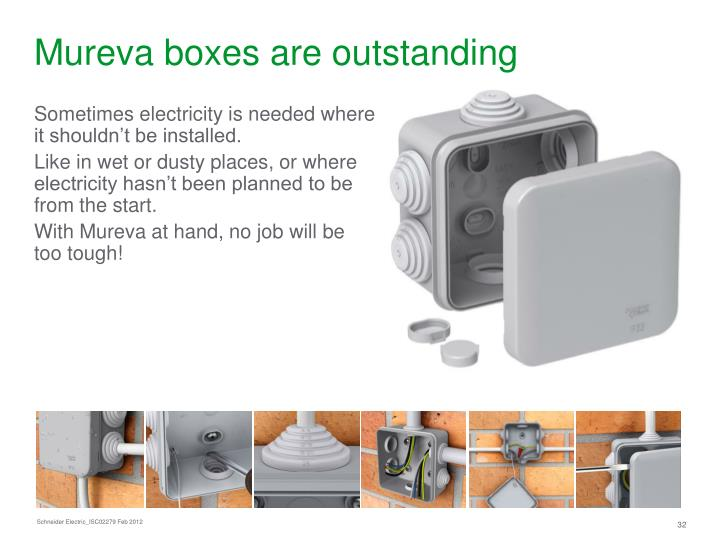 Mureva boxes are outstanding