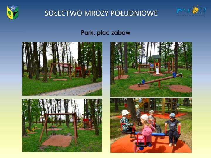 Park, plac zabaw