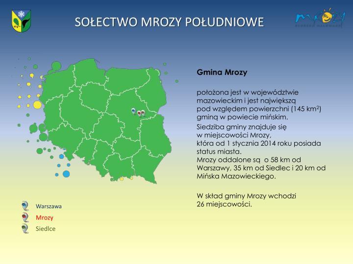 Gmina Mrozy