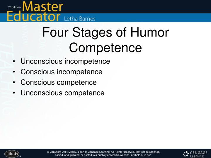 Four Stages of Humor Competence