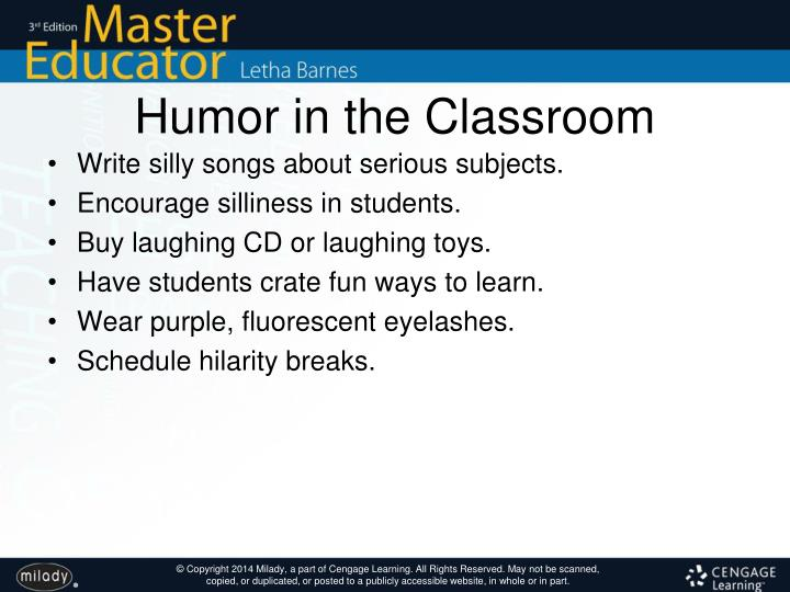 Humor in the Classroom