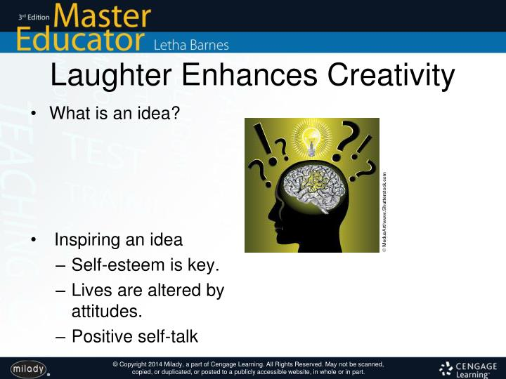 Laughter Enhances Creativity