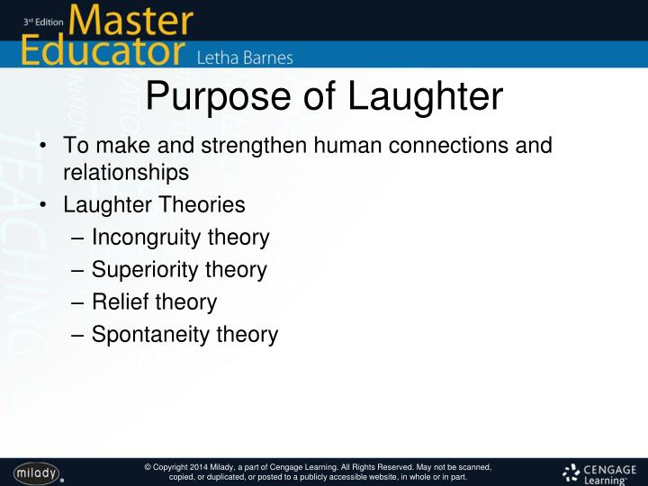 Purpose of Laughter