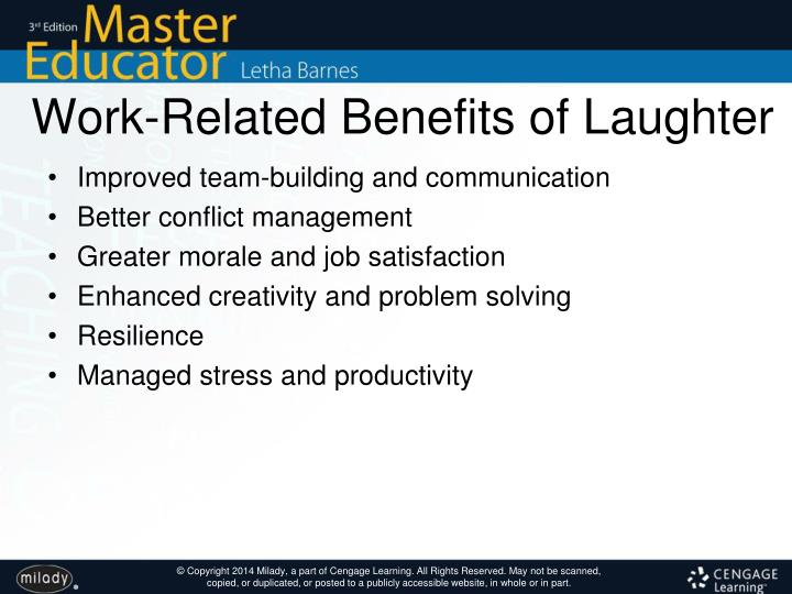 Work-Related Benefits of Laughter