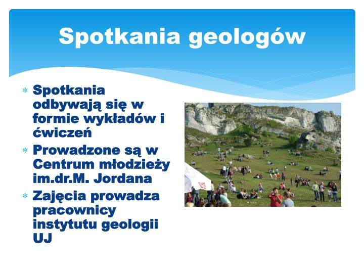 Spotkania geologów