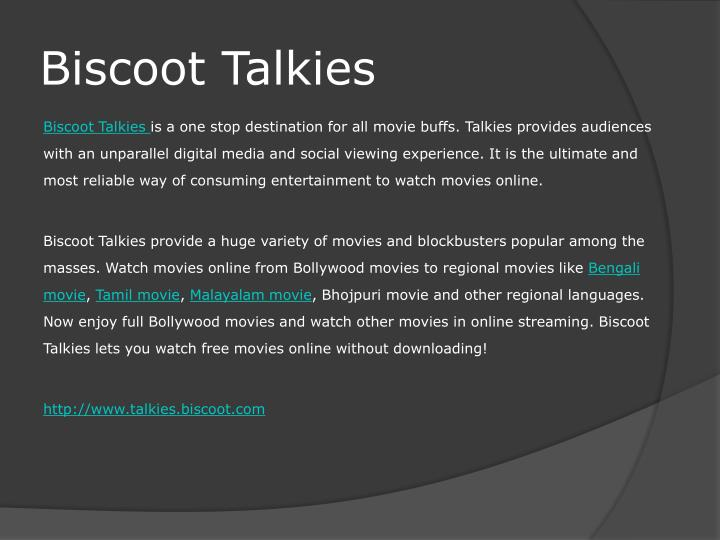 Biscoot Talkies