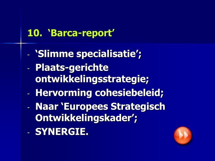10.  'Barca-report'