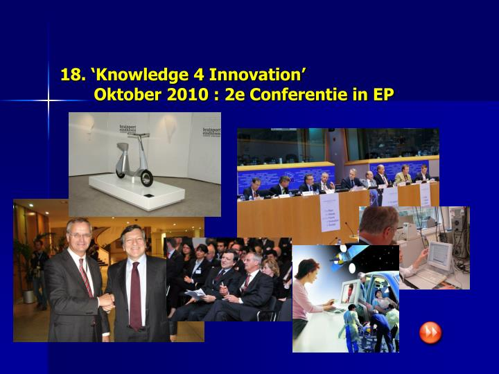 18. 'Knowledge 4 Innovation'