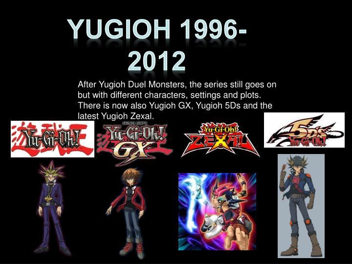 YUGIOH 1996-2012