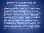 system for accountability and management15