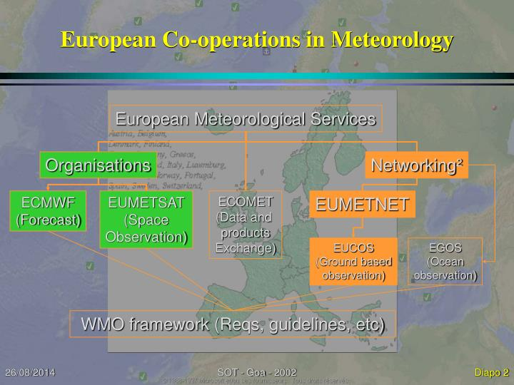 European co operations in meteorology