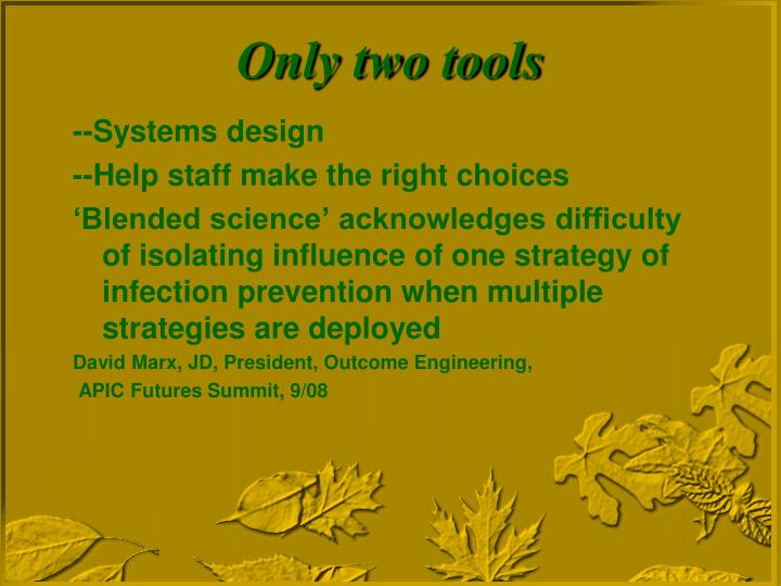 --Systems design