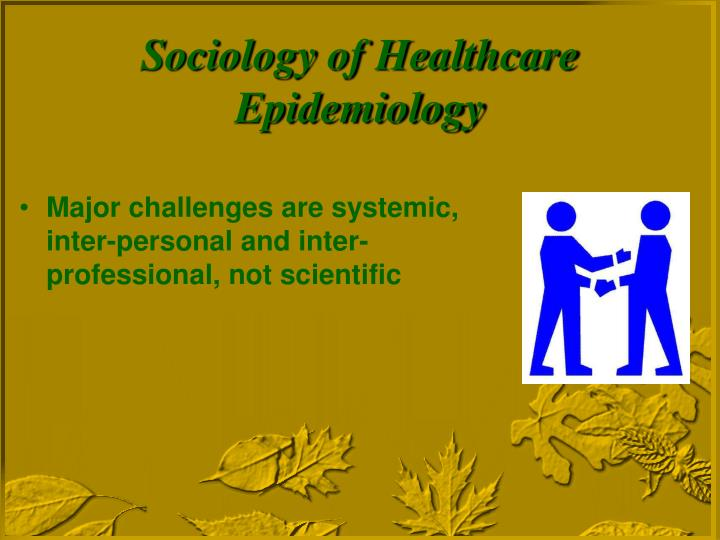 Major challenges are systemic, inter-personal and inter-professional, not scientific