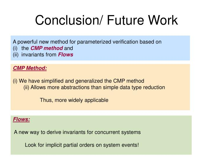 Conclusion/ Future Work