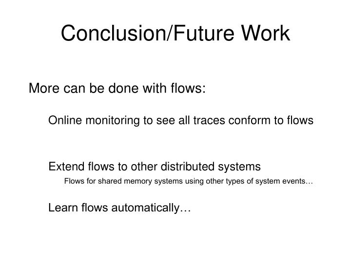 Conclusion/Future Work