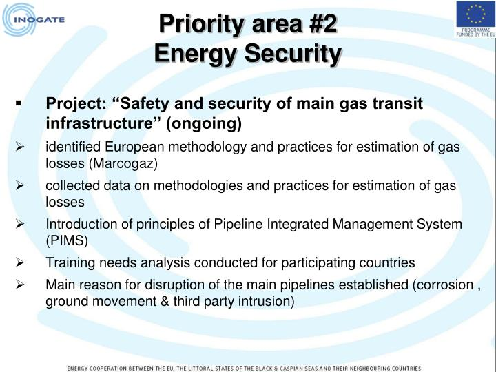 Priority area #2