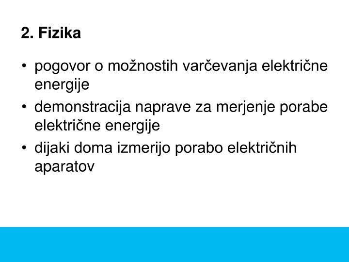 2. Fizika