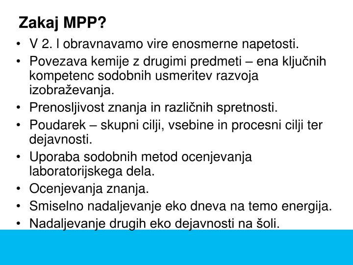 Zakaj MPP?