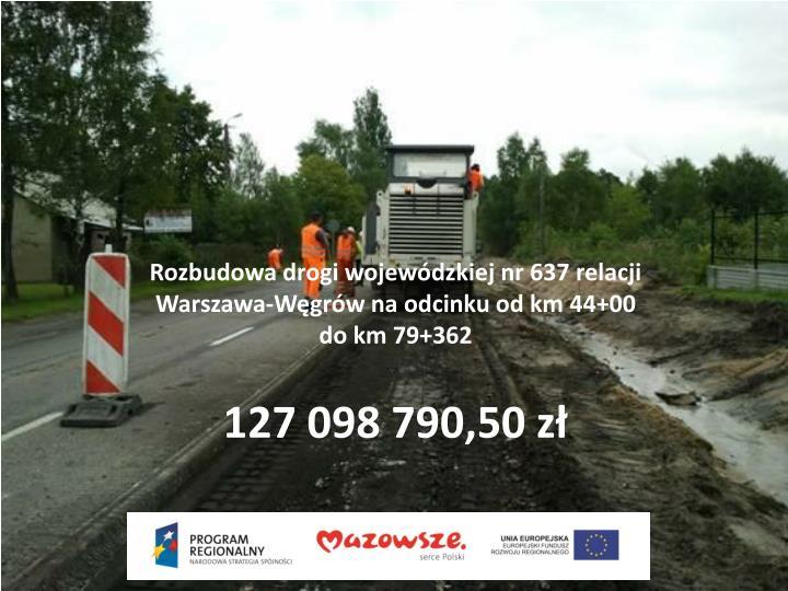Rozbudowa drogi wojewódzkiej nr