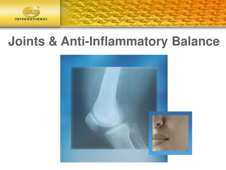 Joints & Anti-Inflammatory Balance