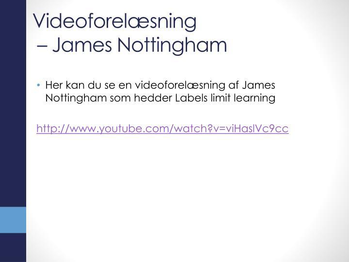 Videoforelæsning