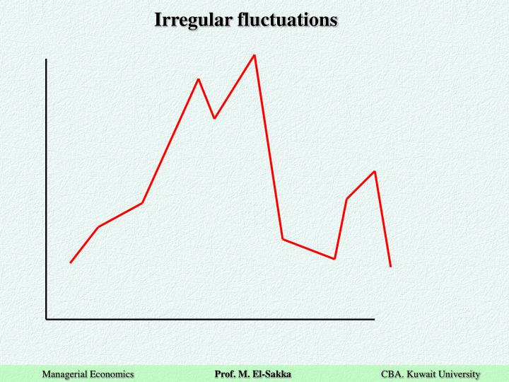 Irregular fluctuations