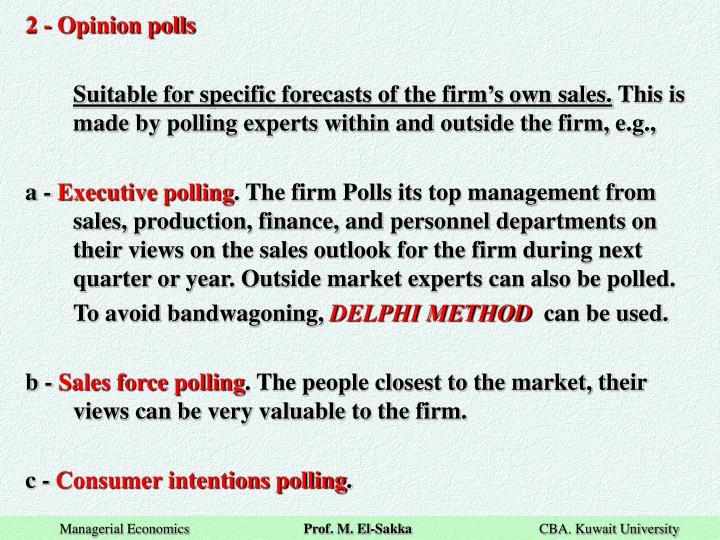 2 - Opinion polls