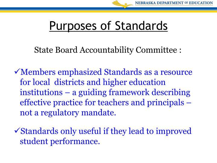 State Board Accountability Committee :