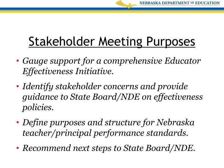 Gauge support for a comprehensive Educator Effectiveness Initiative.