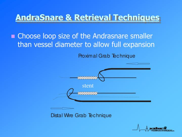 AndraSnare & Retrieval Techniques