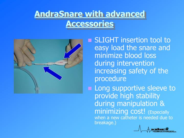 AndraSnare with advanced Accessories