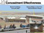 concealment effectiveness