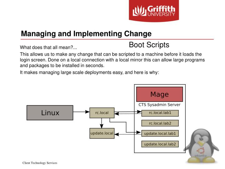 Managing and Implementing Change