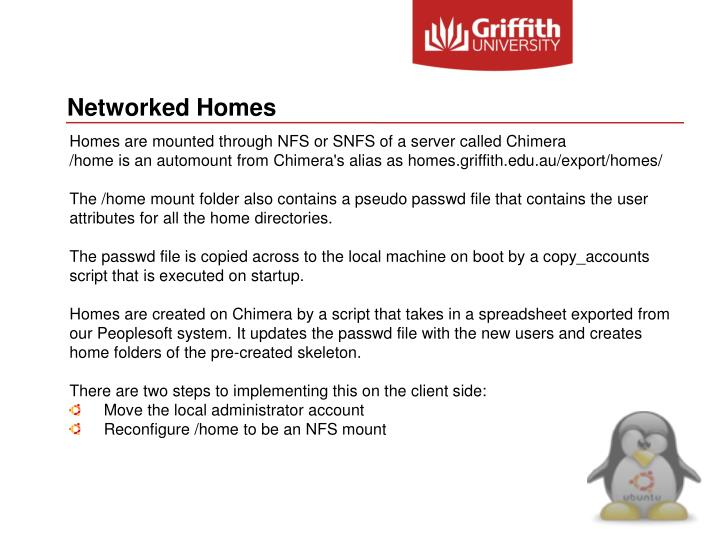Networked Homes
