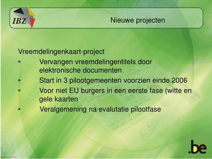 Vreemdelingenkaart-project