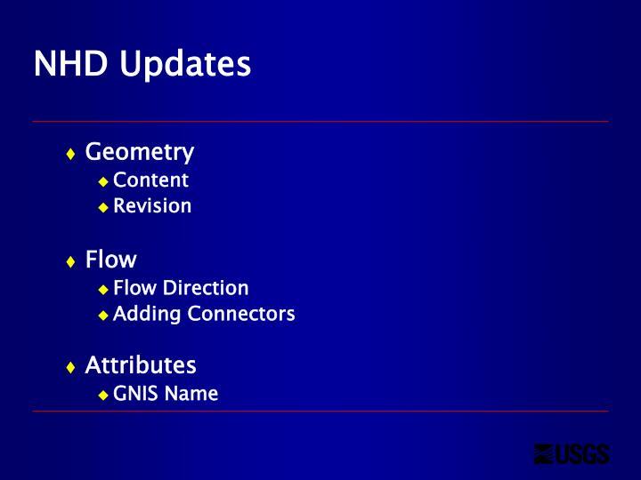NHD Updates