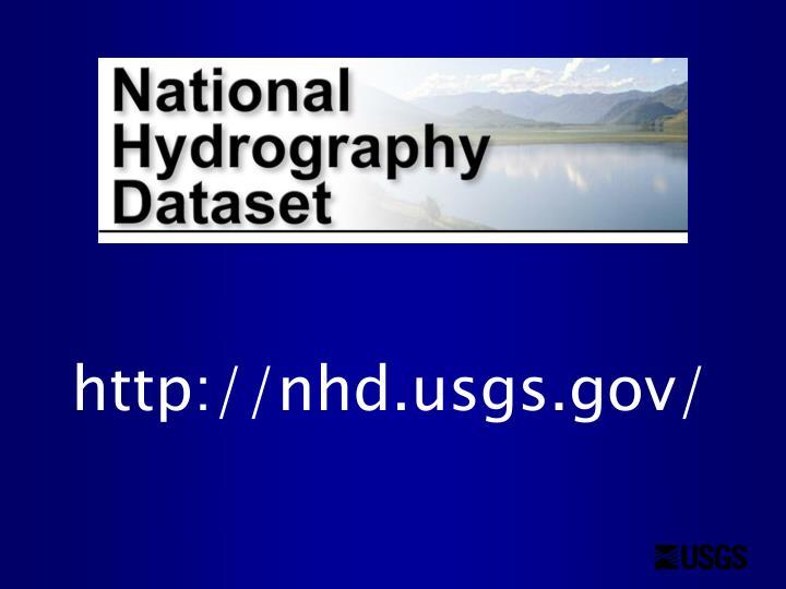 http://nhd.usgs.gov/