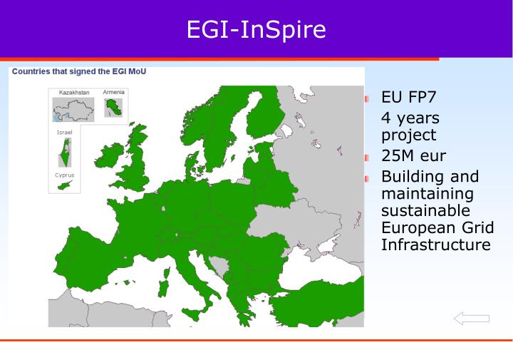 EGI-InSpire