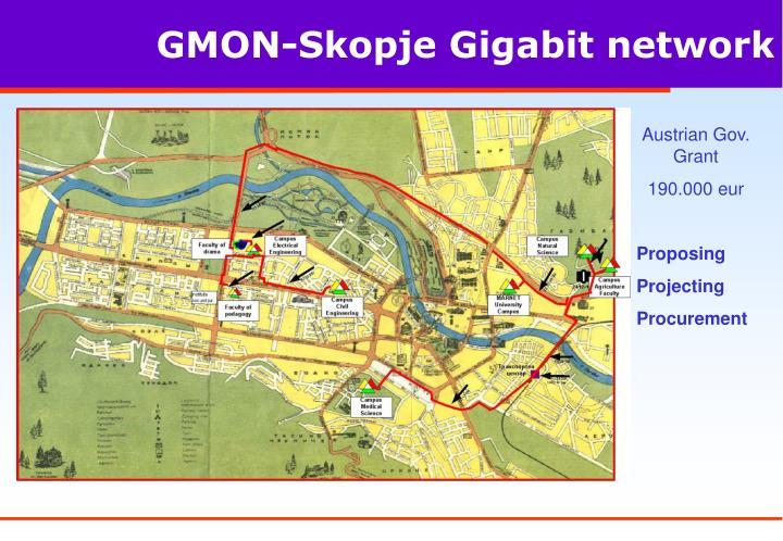 GMON-Skopje Gigabit network