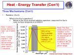 heat energy transfer con t11