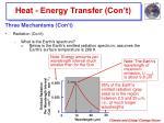 heat energy transfer con t12