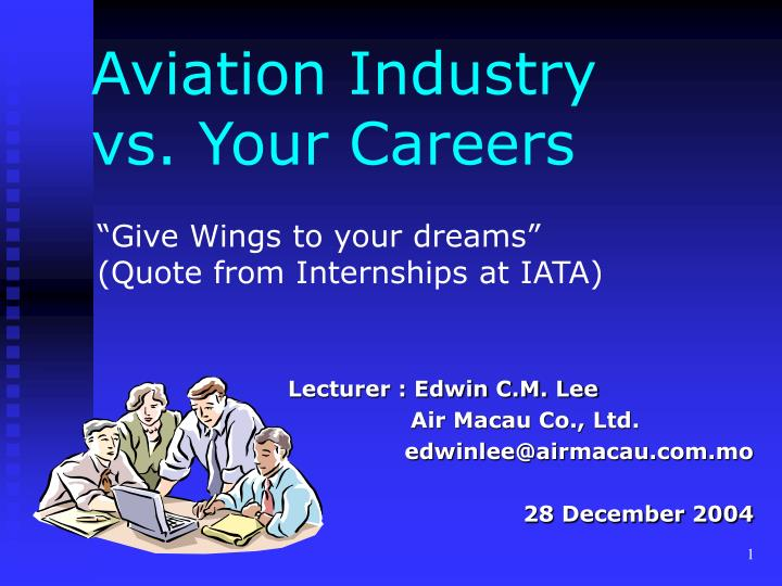 Aviation industry vs your careers