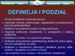 definicja i podzia1