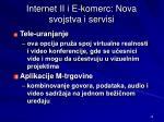 internet ii i e k omerc nova svojstva i servisi1