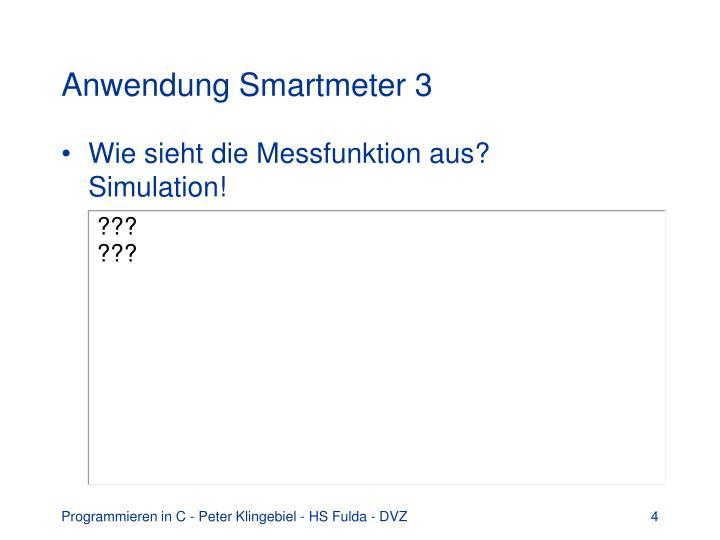 Anwendung Smartmeter 3