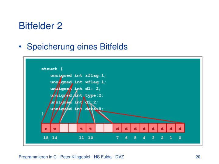 Bitfelder 2