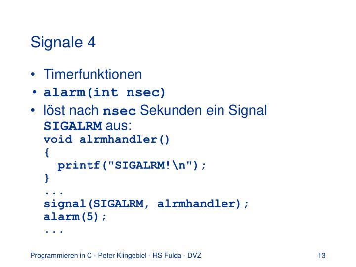 Signale 4