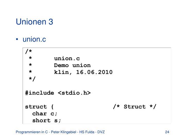 Unionen 3