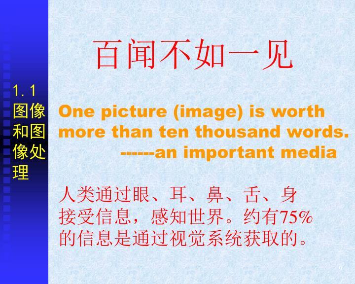1.1图像和图像处理